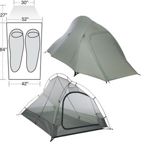 vs Big Agnes Copper Spur 2 Tent  sc 1 st  Glacier National Park Travel Guide : best two man backpacking tent - memphite.com