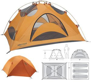 Marmot Limelight 3 Review  sc 1 st  Glacier National Park Travel Guide & Best 3 Person Backpacking Tents: Reviews u0026 Ratings