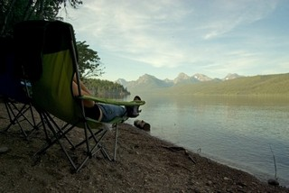 glacier national park camping