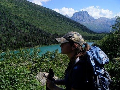 Glacier National Park hiking pictures