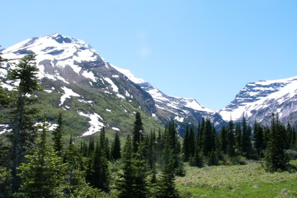Gunsight Snow Mountain Photo