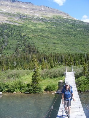 Gunsight Trail Footbridge