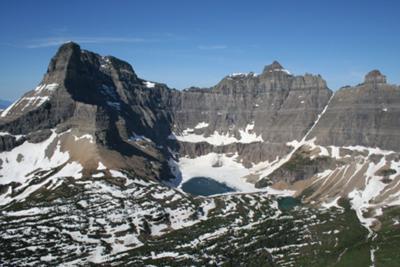 Iceberg Lake Aerial