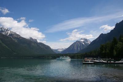 View from Lake McDonaldLodge