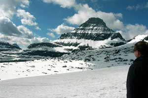 Logan Pass Montana Mountains