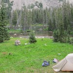 backpacking in colorado's wilderness