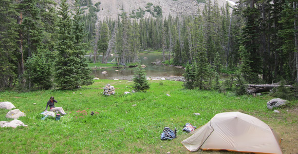 backpacking in coloradou0027s wilderness & Top 5 Best Backpacking Tents