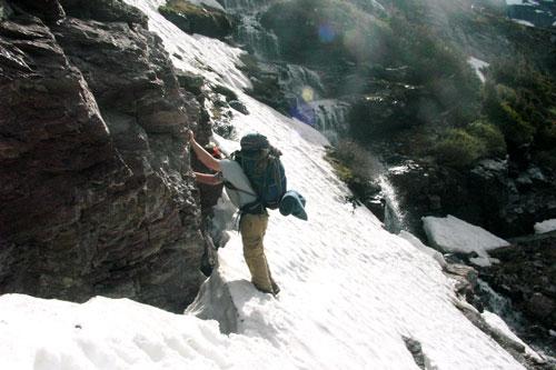 navigating dangerous snowpack