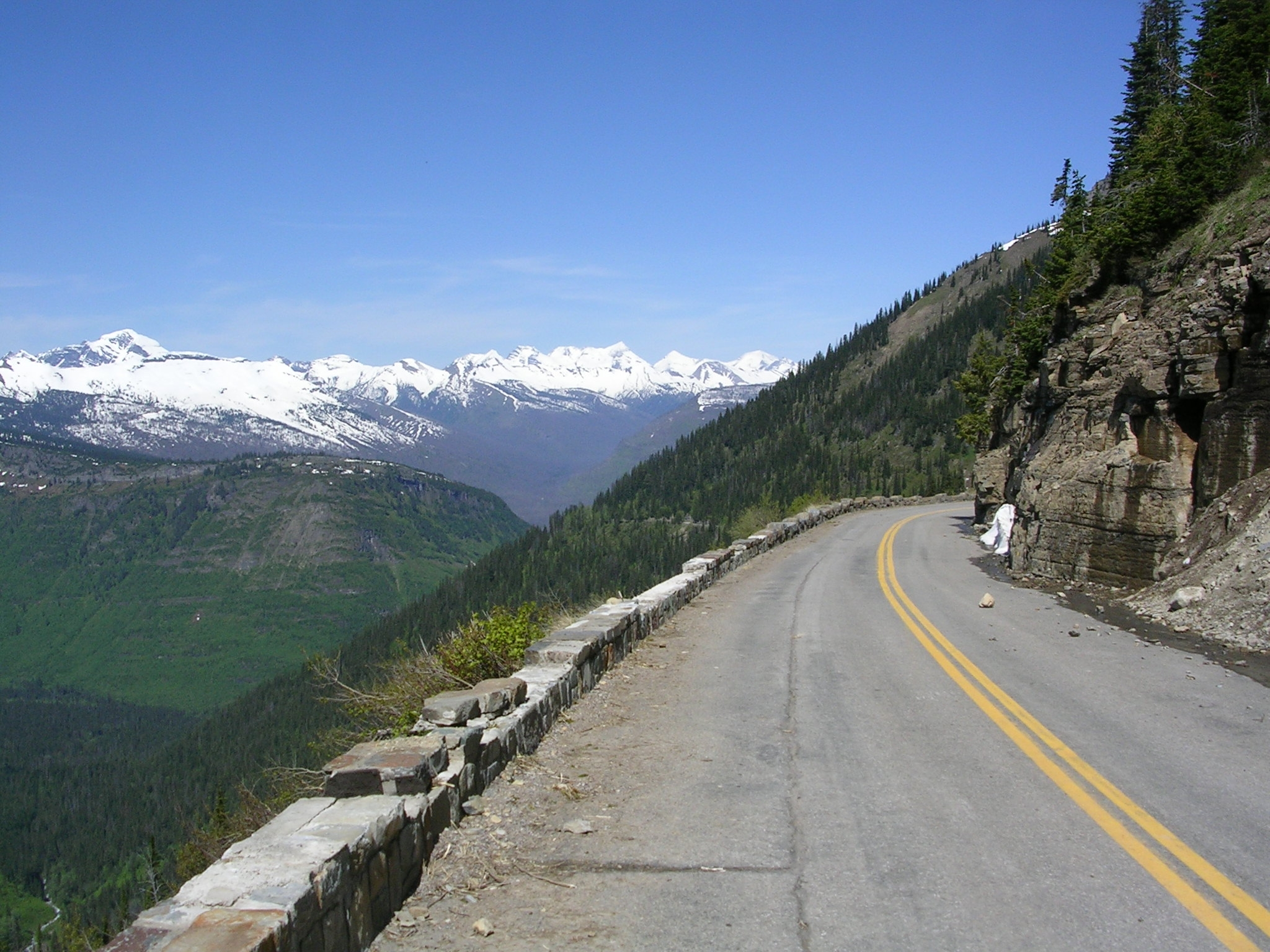 Going-to-the-Sun Road Opens Early | Glacier National Park ...