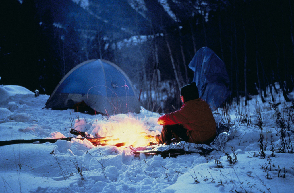 A Good Four-Season Tent For Winter C&ing : fire in tent - memphite.com