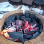 Bring a Campfire Anywhere with the Burnie Grill