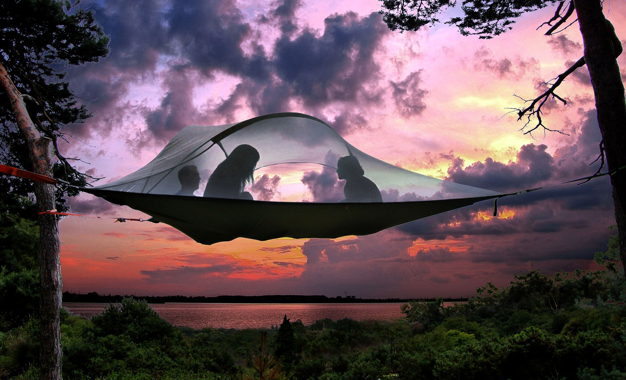 Tenstsile Stingray Tree Tent. tentsile-stingray & Tentsile Tents u0026 Hammocks | Camping Tent Hammock Review