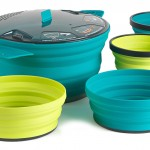 Sea to Summit X Pot 5-Piece Cookset: Save Space in Your Pack, not Your Stomach