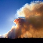 Monster Fire Forces Evacuations in Glacier National Park