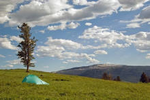 backpacking tent picture