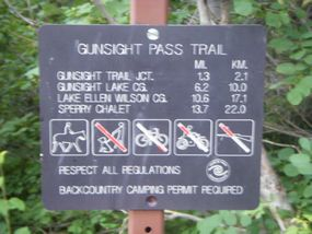 gunsight pass
