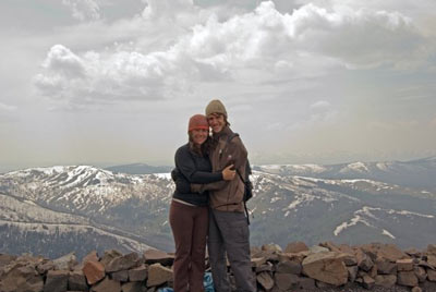 snuggling at the top of a pass in yellowstone national park