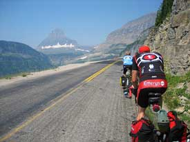 Bike Going To The Sun Road