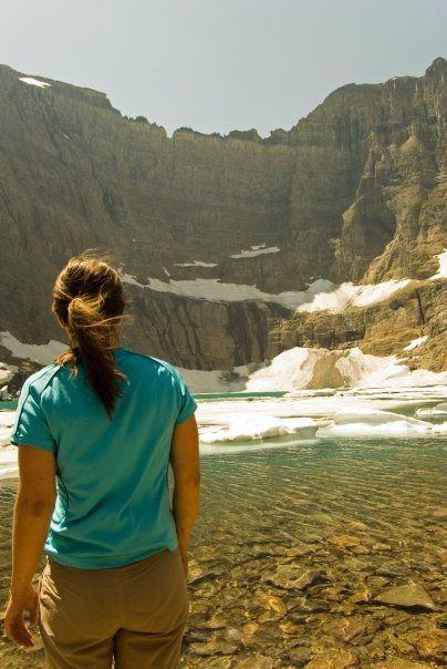 Iceberg Lake Photo - Glacier National Park
