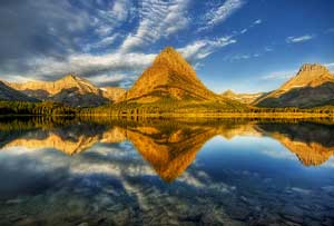 Swiftcurrent Lake Glacier Park