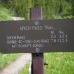siyeh pass