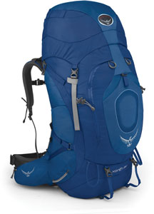 osprey xenith 88 in blue