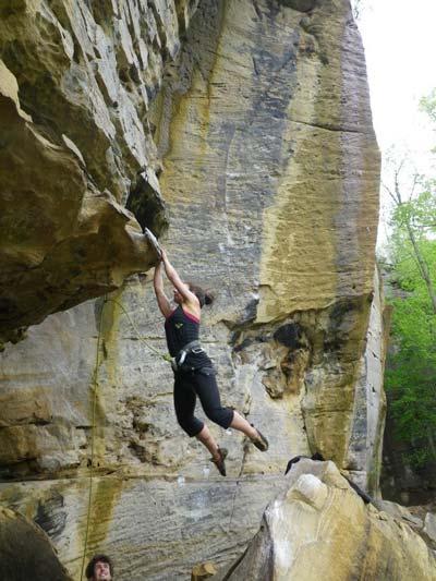 jen novakovich rock climbing
