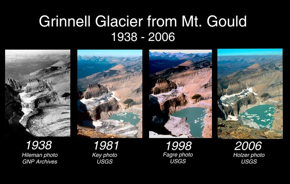 Melting Glaciers Glacier National Park