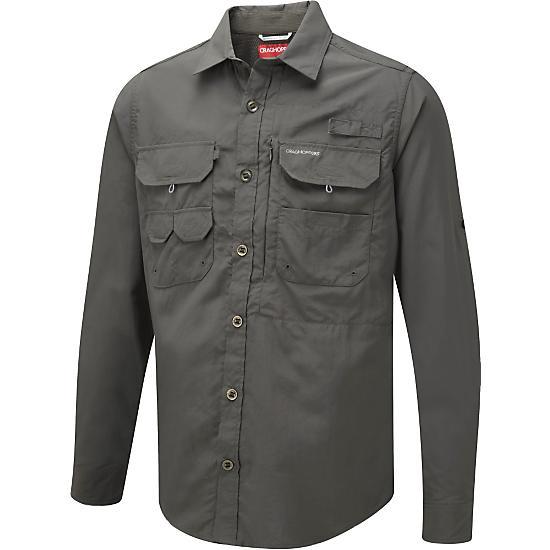 Craghoppers Men's Nosilife LS Angler Shirt